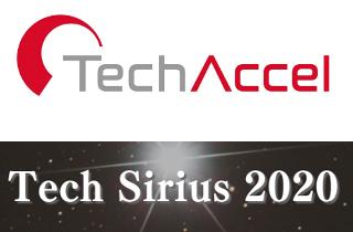 11月06日行われた テックシリウス2020 最終選考会にてFUJITSU ACCELERATOR賞を受賞しました。